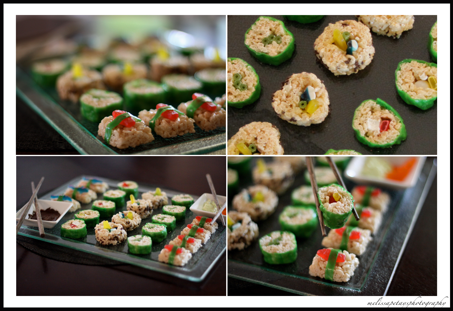 rice krispie sushi | What makes us click