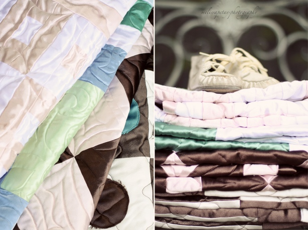 """homemade satin quilts"""