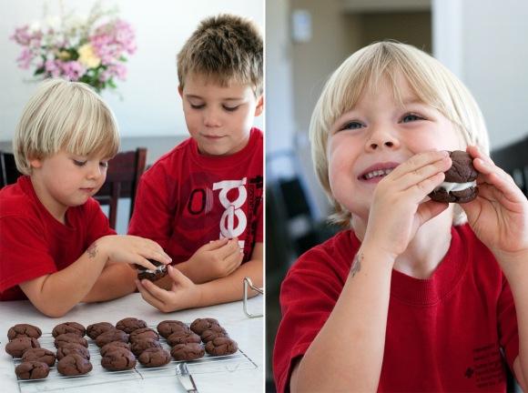 """""""homemade oreo cookies"""""""