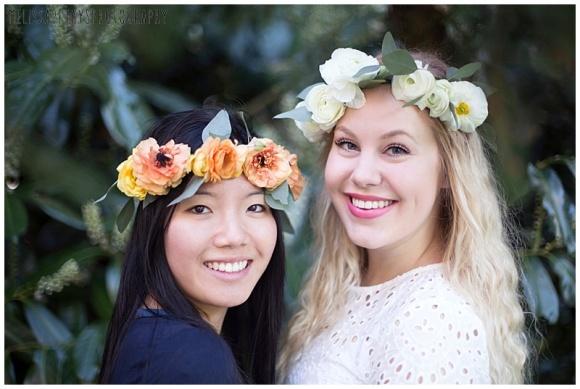 """bff flower crown image"""