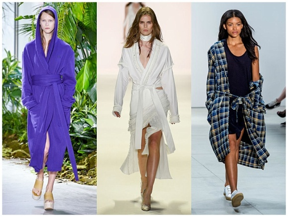 """NYFW spring 2017 robes picture"""