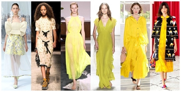 """yellow spring 2017 trends picture"""